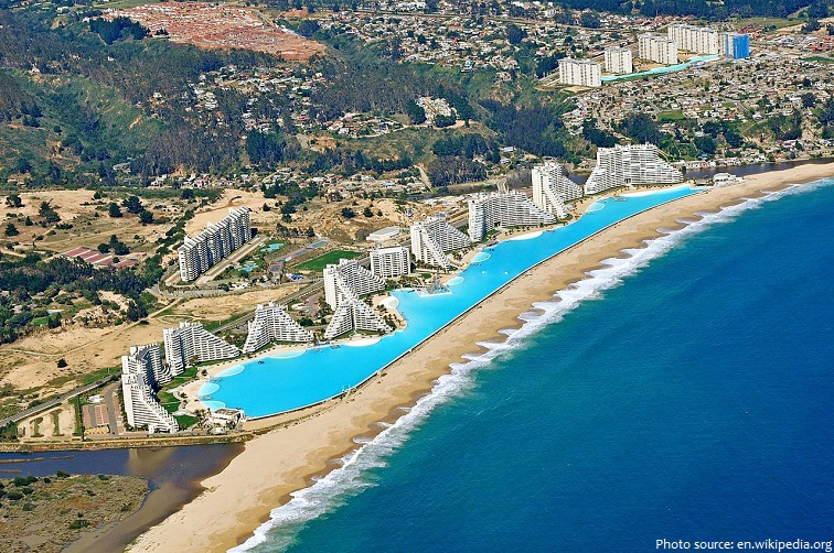 san alfonso del mar worlds second largest swimming pool