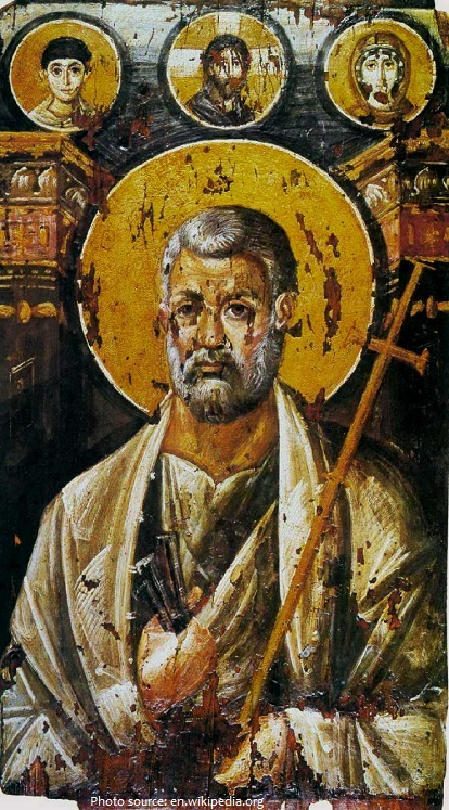 6th-century hot wax icon