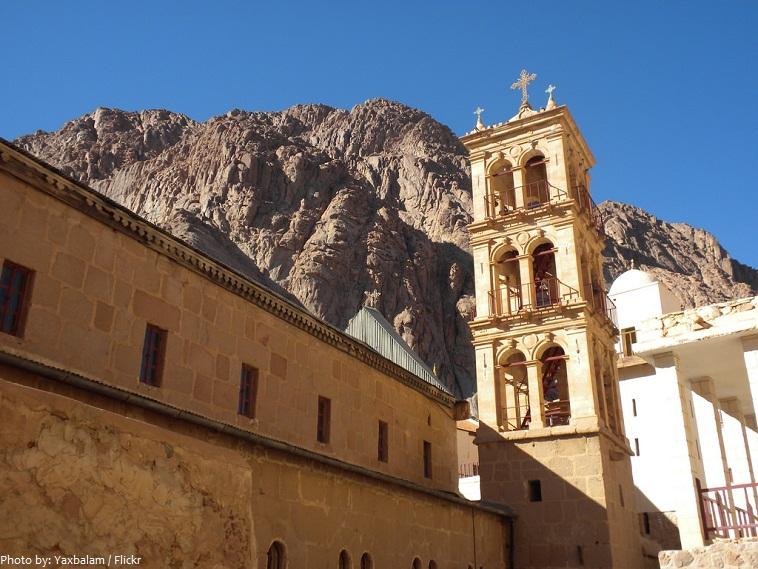 Saint Catherine's Monastery bell tower