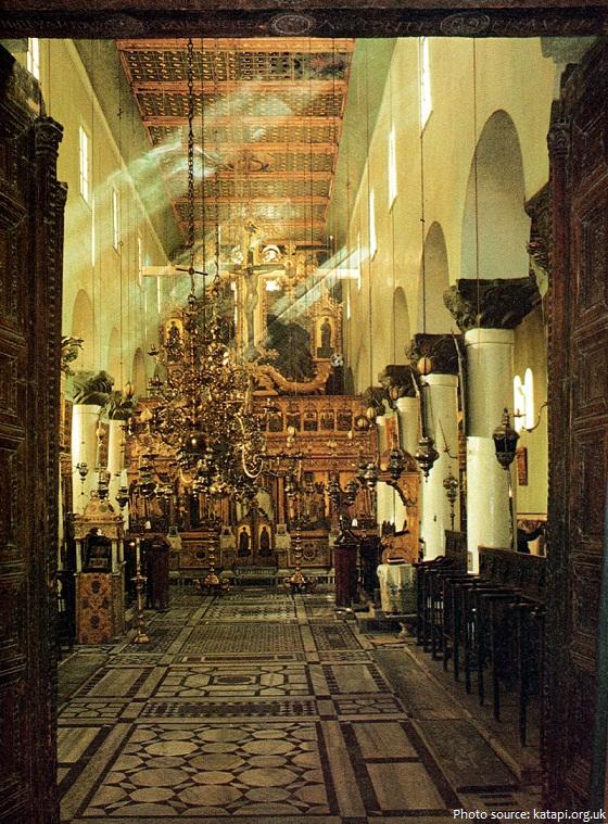 Saint Catherine's Monastery church inside