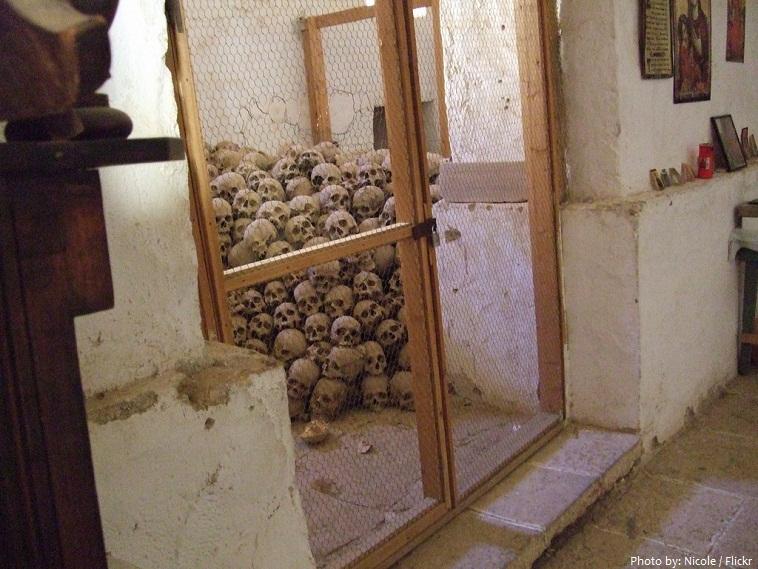 Saint Catherines Monastery skulls