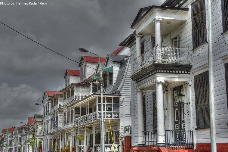 historic city of paramaribo