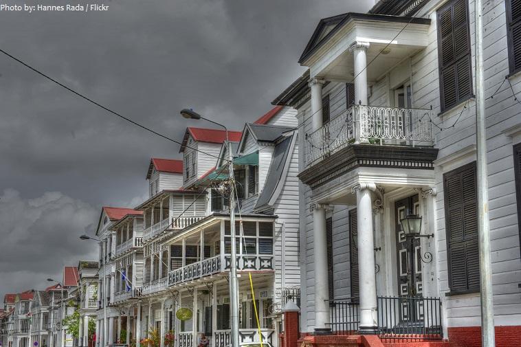 historic city of paramaribo