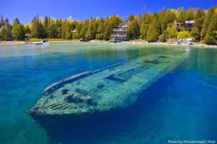 lake huron shipwreck