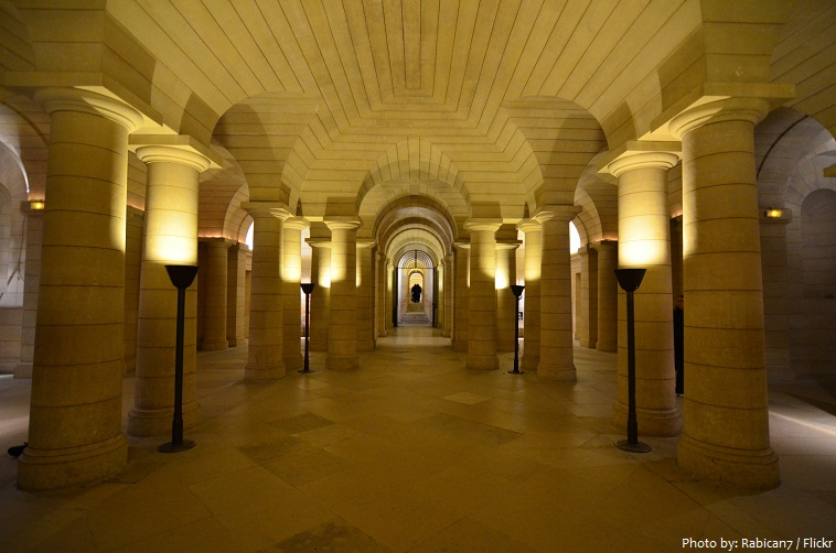 pantheon paris crypt