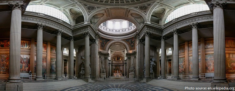 pantheon paris interior