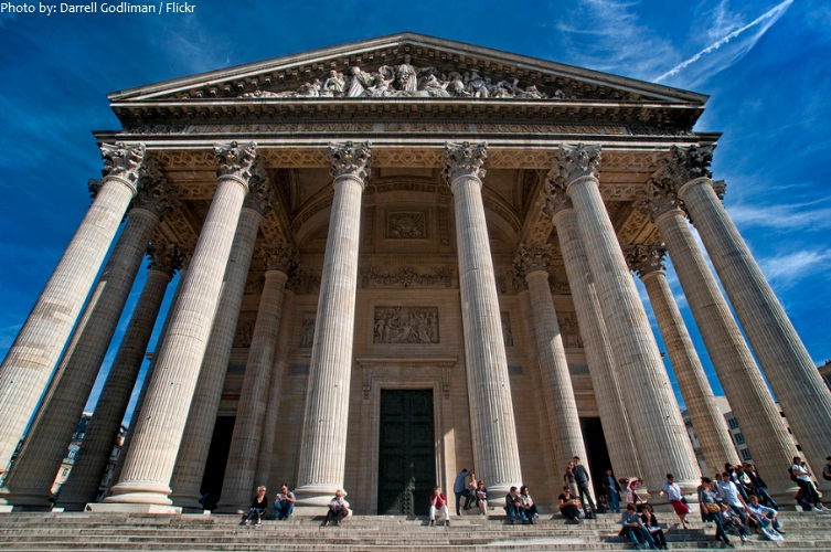 pantheon paris portico
