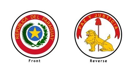 paraguay flag emblems