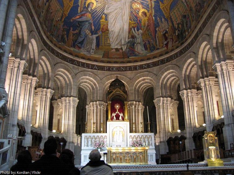 sacre coeur altar