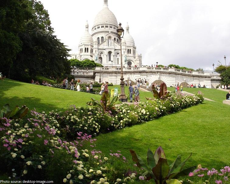 sacre coeur garden