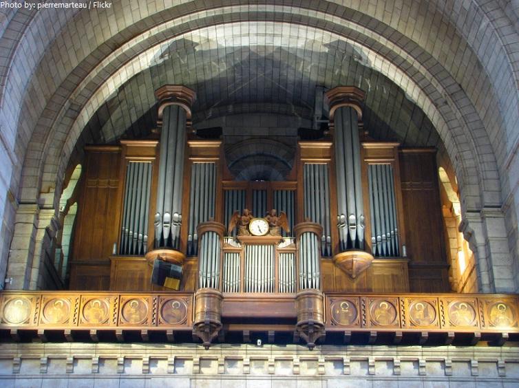 sacre coeur pipe organ