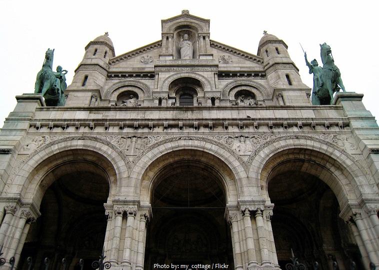 sacre coeur portico