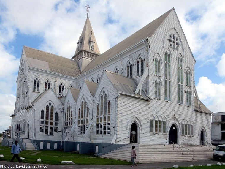 st. georg's cathedral guyana