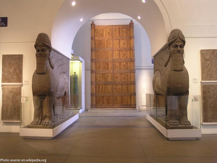 british museum lamassu