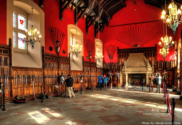 edinburgh castle great hall