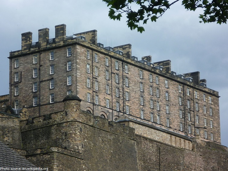 edinburgh castle new barracks