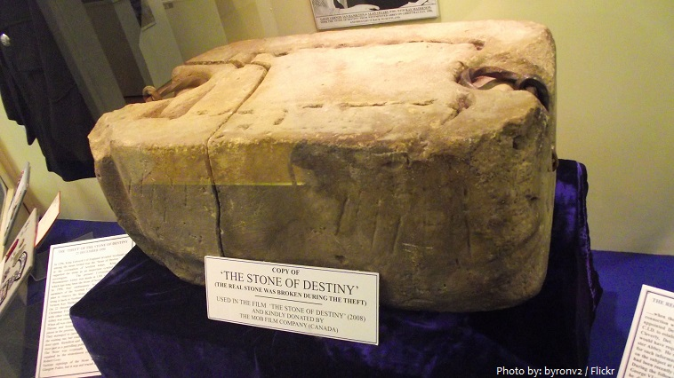 edinburgh castle stone of destiny