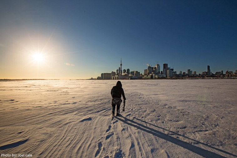 lake ontario frozen