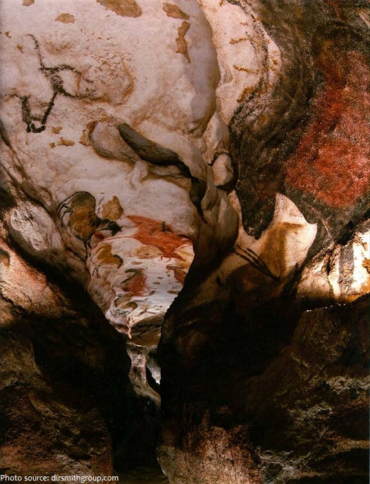 lascaux painted gallery