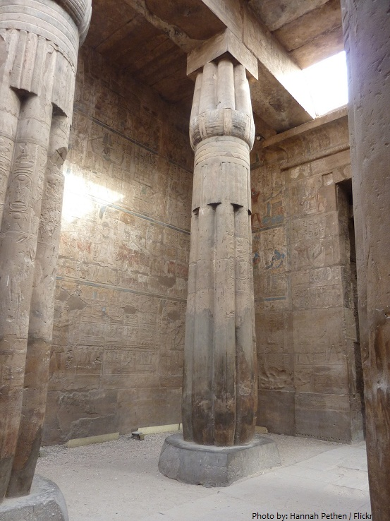 luxor temple birth room