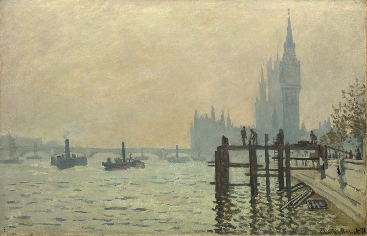 river thames claude monet