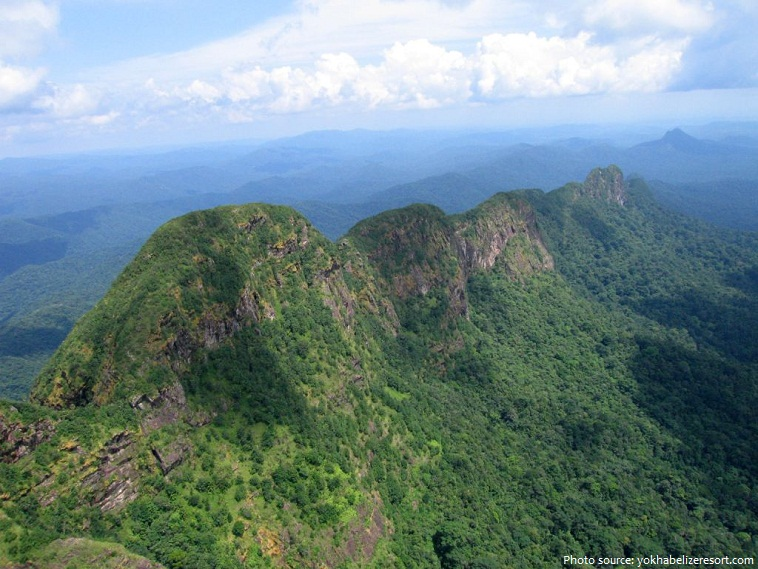 victoria peak in belize