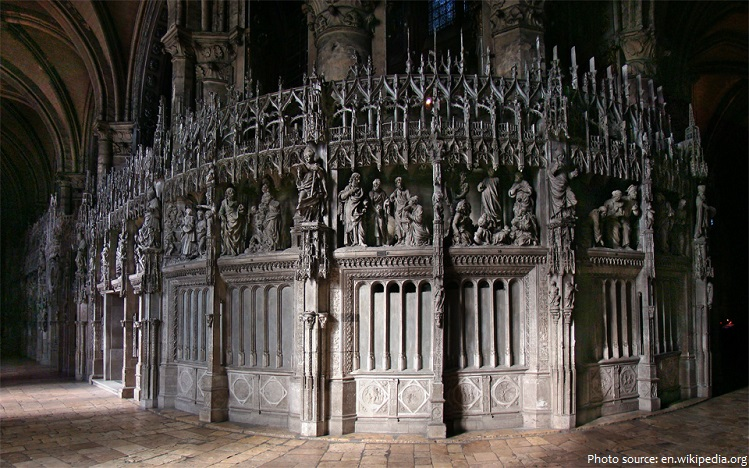 chartres cathedral choir