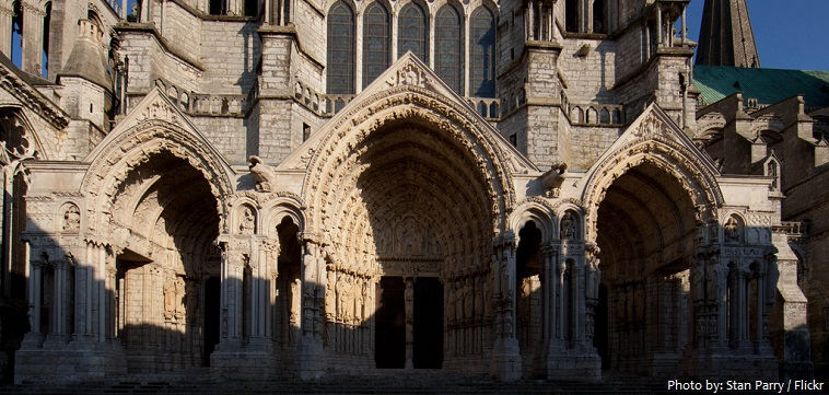 chartres cathedral north portals