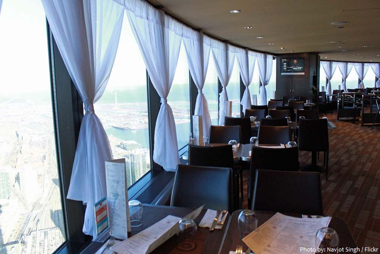 cn tower café horizon