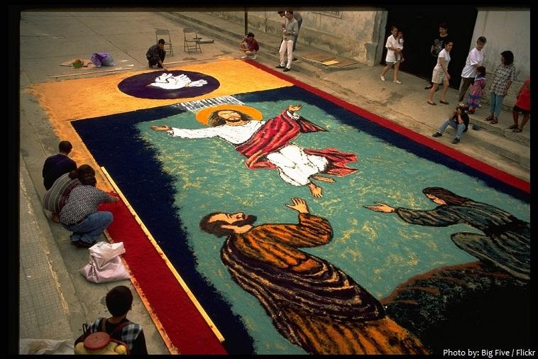 comayagua sawdust carpets