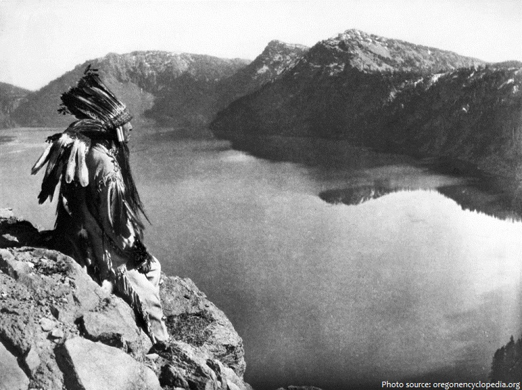 crater lake indian