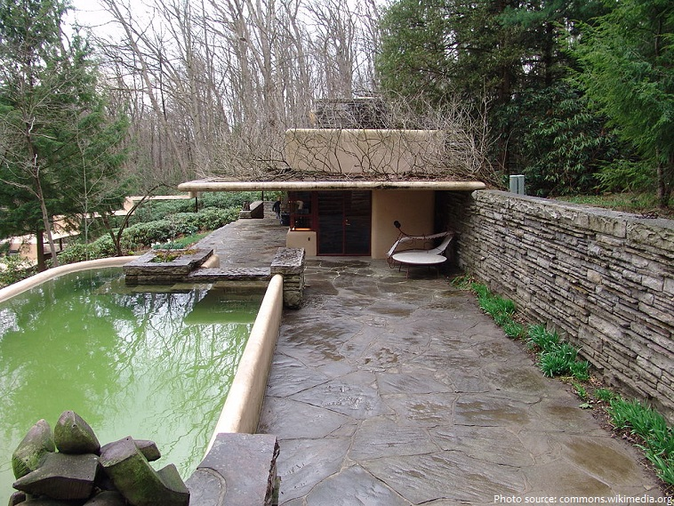 Interesting facts about fallingwater just fun facts - Maison sur la cascade ...