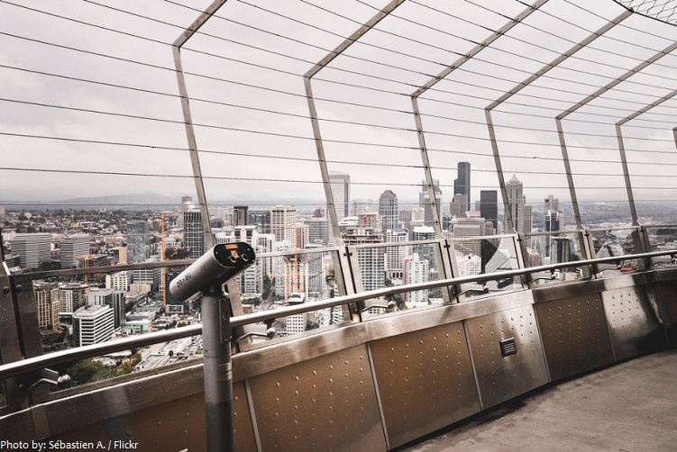 space needle observation deck