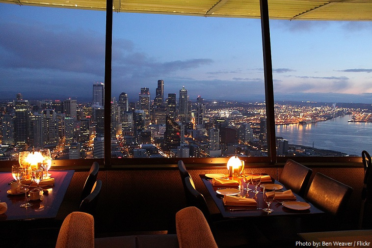 space needle skycity restaurant