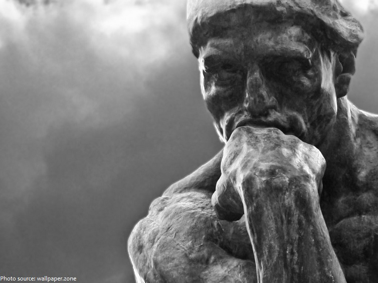 interesting facts about the thinker just fun facts
