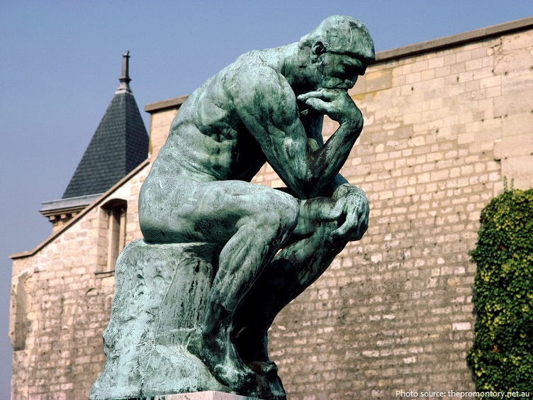 Souvent Interesting facts about The Thinker | Just Fun Facts XJ73