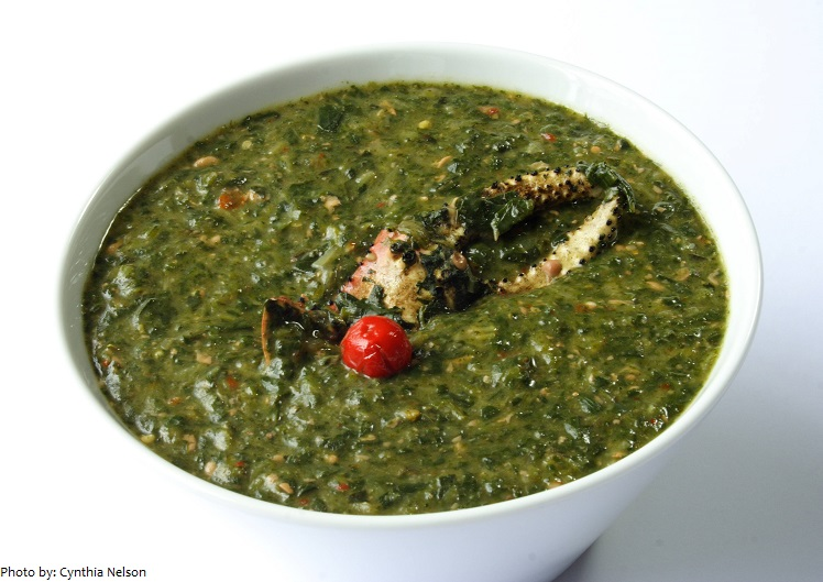 crab and callaloo