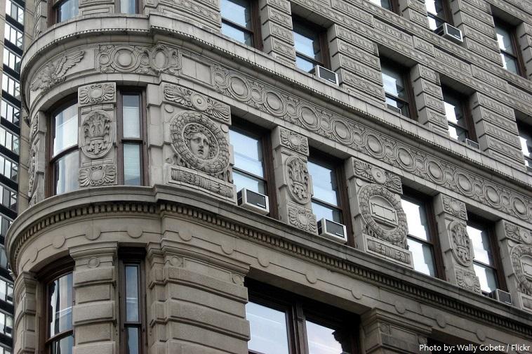 flatiron building facade