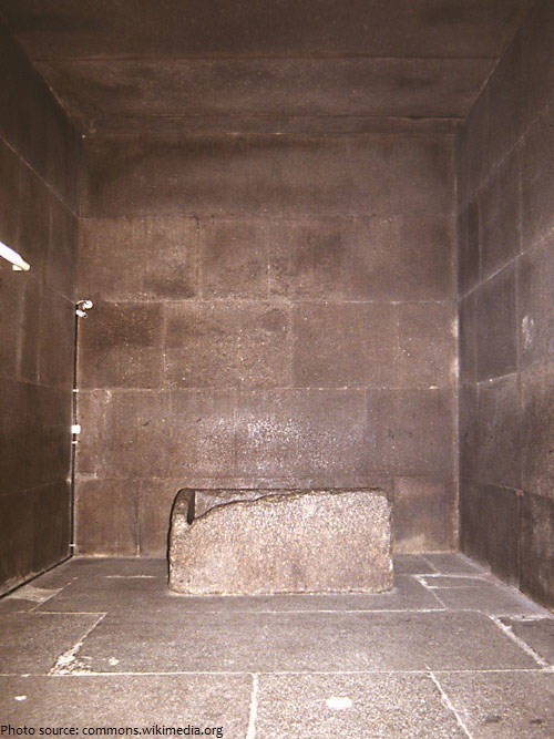 great pyramid of giza kings chamber