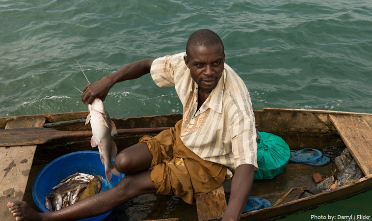 lake tanganyika fisherman