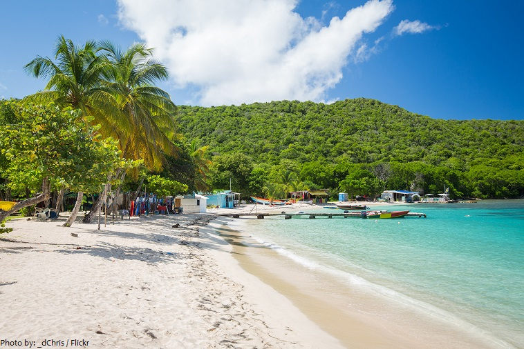 saint vincent and the grenadines beach