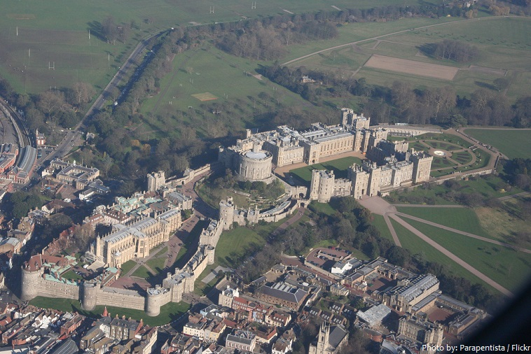 windsor castle aerial