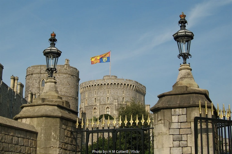 windsor castle flag