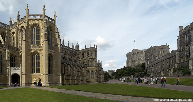 windsor castle lower ward