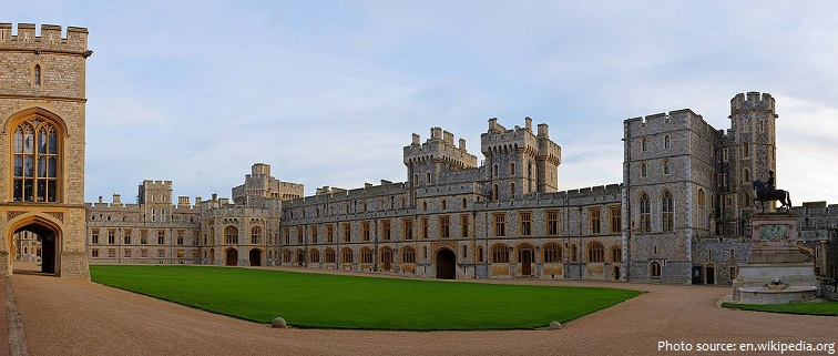 windsor castle upper ward
