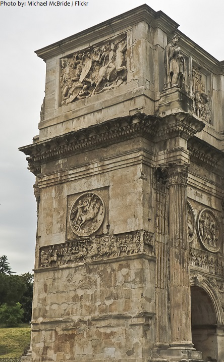 arch of constantine east side