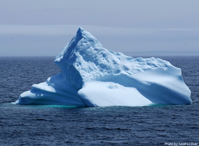 atlantic ocean iceberg