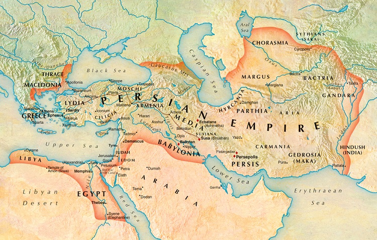 persia map