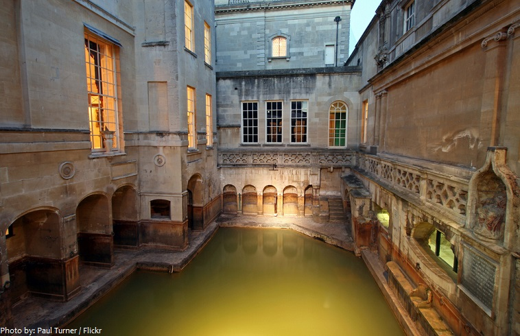 roman baths king's bath