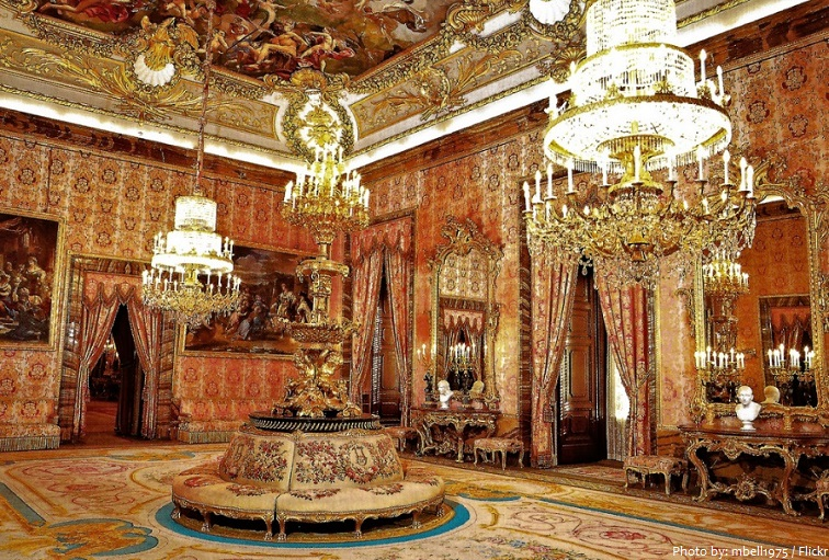 royal palace of madrid antechamber of charles III